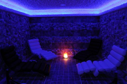 Соляная комната в Аквапарке