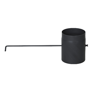Труба с шибером Ø 200