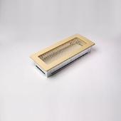 Решетка кремовая каминная 10.5 х 25