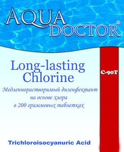 Средство для длительной дезинфекции воды AquaDoctor C90-T, 5 кг