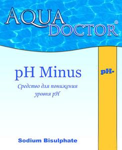 Регулятор уровня рН AquaDoctor pH-, 10 кг