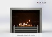 "Встраиваемый биокамин Gloss fire ""Очаг Focus MS"" Арт. 005"