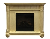 Электрокамин Dimplex Optiflame Rome White