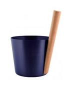 Шайка Rento алюминий с бамбуковой ручкой - Ежевика