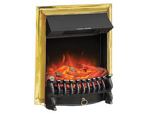 Электрокамин Royal Flame LED Fobos FX Brass