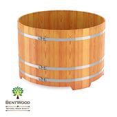 Купель круглая Bentwood из лиственницы D 1,80 м