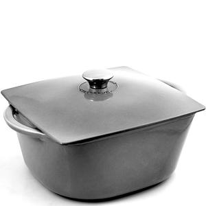 Горшок чугунный эмалированный Modern 5.5л. серый