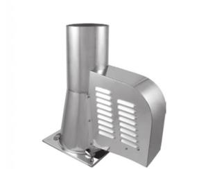 Генератор тяги дымохода Darco GCK150CH квадратная подставка (с открытием)