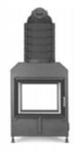 Каминная топка Hoxter HAKA 63/51 Т с аккумуляционной насадкой