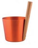 Шайка Rento алюминий с бамбуковой ручкой - Куршина