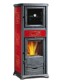 Каминная печь Nordica Rossella Plus Forno Evo Liberty