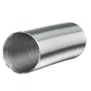 Неизолированый алюминиевый воздухопровод Darco Ø 80, 100