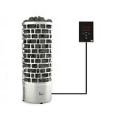 Электрокаменка SAWO TOWER ARIES ROUND ARI3-60Ni2-P + пульт Saunova 2.0