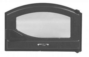 Печная дверца Pisla HTT 431 (герметичная, контроль тяги воздуха)