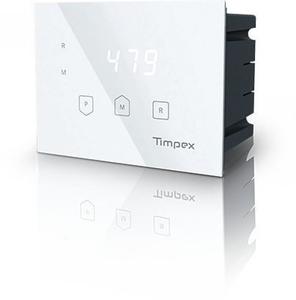 Timpex Регулятор горения 110 - 150 - 2,5m/4m - белый/черный