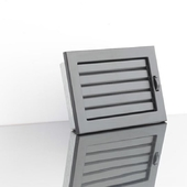 Решетка каминная Ventlab KRVZ ML с регуляцией жалюзи