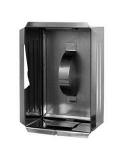Ревизионная рамка Darco к двери и регулятора тяги дымохода
