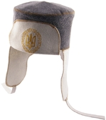 Шапка для сауны УШАНКА (комбинированный войлок)