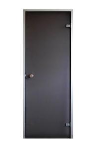 Двери для хаммама Saunax бронза 70х190 см