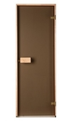 Двери Saunax бронза 80х210