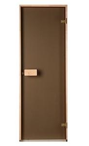 Двери Saunax бронза 80х200