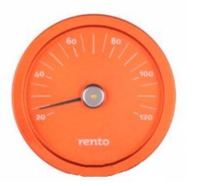 Термометр для бани Rento - Крушина
