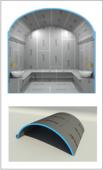 Потолок готовый - свод PS3