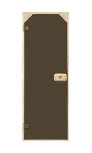 Двери трапеция тонированная бронза 70х190 см