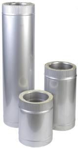 Труба н/оц 1м, 200/260, 0.8 мм