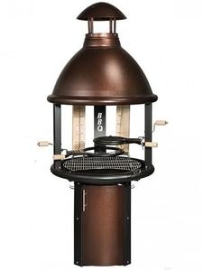Гриль-барбекю Tundra Grill BBQ, High model,античная медь
