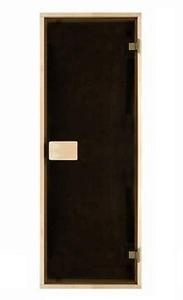 Двери матовые тонированная бронза 80х190 см