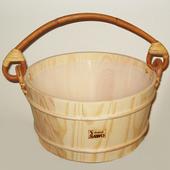 Ведро деревянное для бани Sawo 300-НР, 10 л